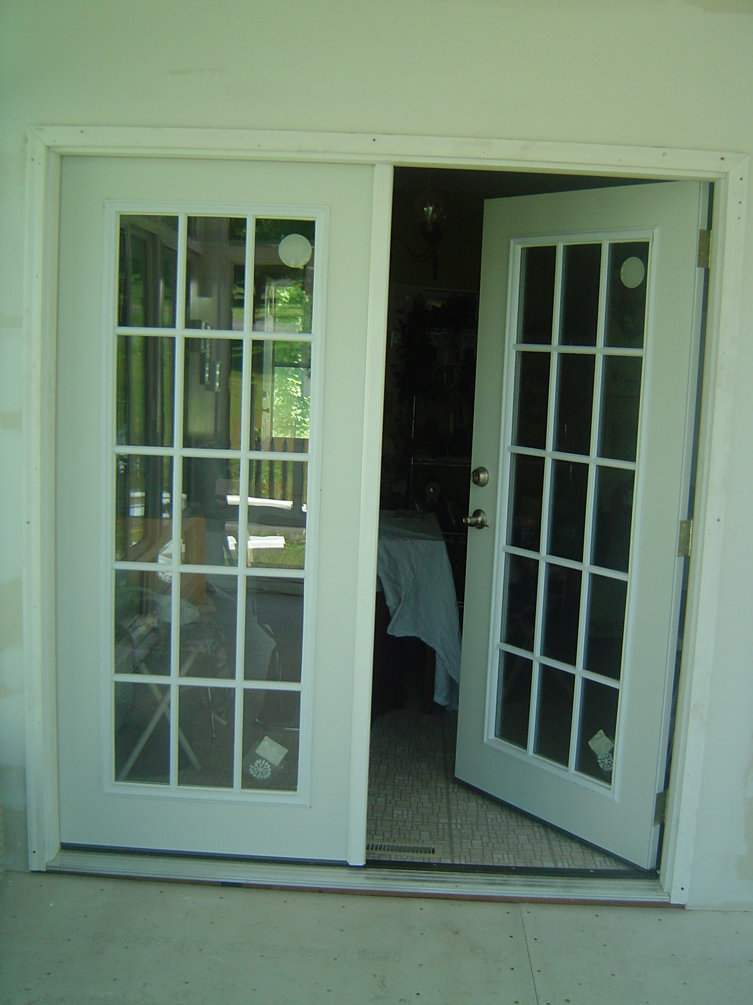 French doors look nice jonathan kliman s nerdy blog for Looking for french doors